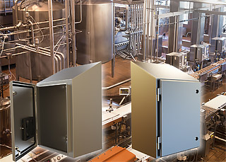 Hammond Manufacturing's New Waterfull Series Wall Mounted Enclosures