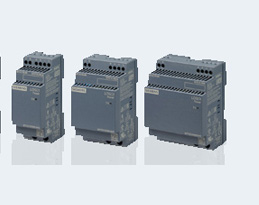 New Logo!Power supply devices for up to 100 watts in ultra-narrow design