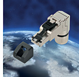 LÜTZE launches angled 8-pin cat. 6A RJ45 premium industrial connector